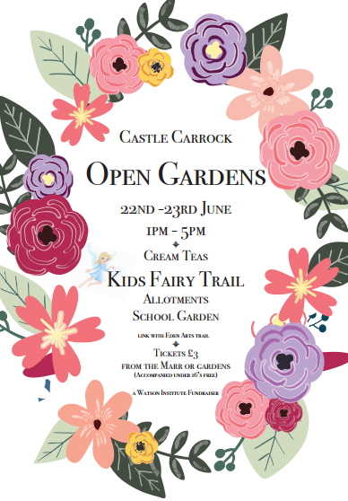 Castle Carrock Open Gardens Weekend on Saturday June 22nd and Sunday June 23rd